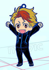 main photo of Yuri!!! on ICE Rubber Strap Collection: Minami Kenjiro