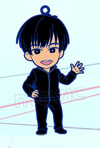 main photo of Yuri!!! on ICE Rubber Strap Collection: Phichit Chulanont