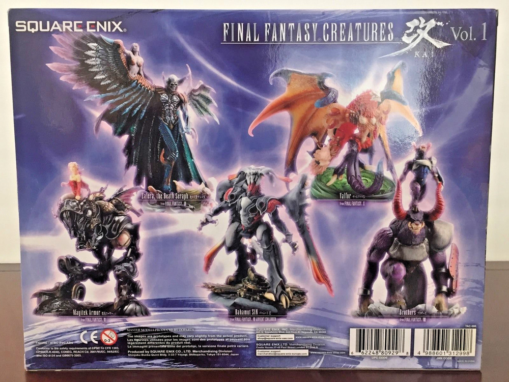 *B3757-1 Square Enix Products Final Fantasy Creatures KAI Vol.1 Tiamat Figure