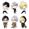 photo of Chara-Forme Yuri!!! on Ice Acrylic Strap Collection: Victor Nikiforov A