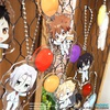 photo of Katekyo Hitman REBORN! Acrylic Keychain Collection: Yamamoto Takeshi