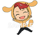 main photo of Yuri!!! on Ice Rubber Strap Set: Kenjiro Minami