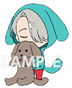main photo of Yuri!!! on Ice Rubber Strap Set: Victor Nikiforov & Makkachin