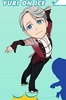 photo of Yuri!!! on ICE Acrylic Key Holder Collection: Victor Nikiforov