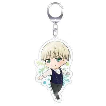 main photo of Yuri!! on Ice El Cute Trading Acrylic Keyholders: Yuri Plisetsky