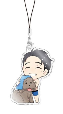 main photo of Chara-Forme Yuri!!! on Ice Acrylic Strap Collection Vol.2: Yuri Katsuki