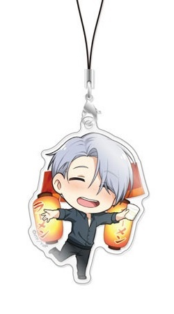 main photo of Chara-Forme Yuri!!! on Ice Acrylic Strap Collection Vol.2: Victor Nikiforov