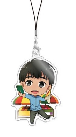 main photo of Chara-Forme Yuri!!! on Ice Acrylic Strap Collection Vol.2: Phichit Chulanont