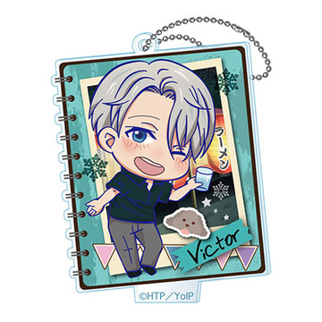 main photo of Yuri on Ice Toji Colle Acrylic Keychain Vol.1: Victor Nikiforov