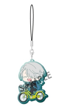 main photo of Yuri!!! on Ice Clear Rubber Strap: Victor Nikiforov