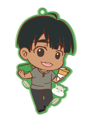 main photo of Yuri on Ice Toji Colle Rubber Clip Badge Vol.1: Phichit Chulanont