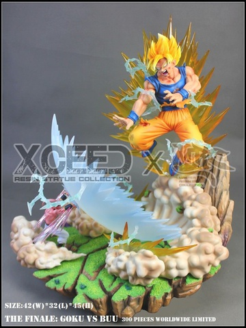 main photo of Super saiyan Son Goku VS Pure evil Majin Buu