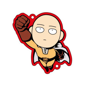 main photo of One Punch Man Buralink Rubber Strap Collection: Saitama