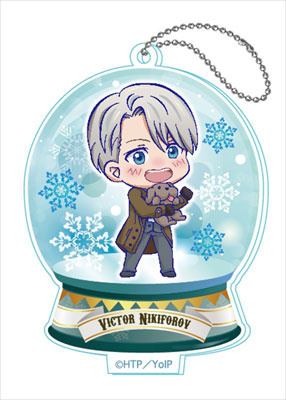 main photo of Yuri on Ice Toji Colle Acrylic Keychain Vol.2: Victor Nikiforov
