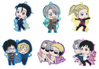 photo of Yuri on Ice Toji Colle Rubber Clip Badge Vol.2: Victor & Christophe