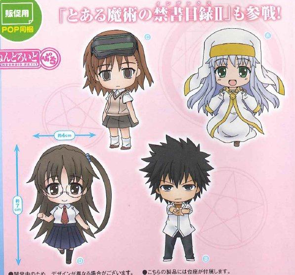 To Aru Majutsu No Index II Kazakiri Hyouka Nendoroid Petite Figure