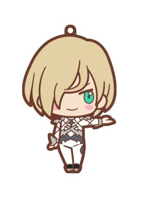 main photo of Yuri!!! on Ice ChokoKawa Rubber Strap: Yuri Plisetsky costume ver.