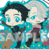 Yuri!!! on Ice Rubber Strap RICH: Yuri Katsuki & Victor Nikiforov