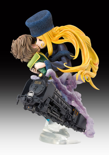 main photo of Super Figure Art Collection Bust Maetel & Hoshino Tetsuro Last Scene Ver.