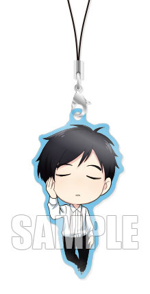 main photo of Chara-Forme Yuri on Ice Acrylic Strap Collection Vol.3: Yuri Katsuki AmiAmi Exclusive Bonus