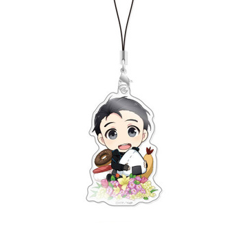 main photo of Chara-Forme Yuri on Ice Acrylic Strap Collection Vol.3: Yuri Katsuki