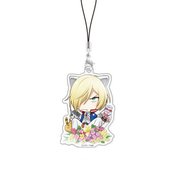main photo of Chara-Forme Yuri on Ice Acrylic Strap Collection Vol.3: Yuri Plisetsky