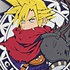 Kingdom Hearts Trading Rubber Strap: Cloud Strife