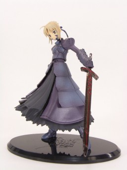 main photo of Fate/stay night Trading Figure: Saber Alter