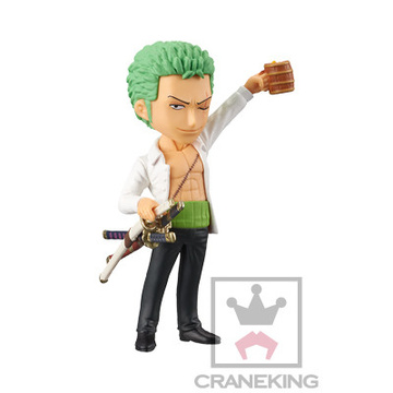 main photo of One Piece World Collectable Figure -DressRosa 4-: Roronoa Zoro