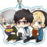 Yuri!!! on Ice Gyugyutto Acrylic Keychain MoguMogu ver.: Group