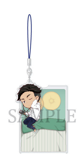 main photo of Yuri!!! on Ice Oyasumi Acrylic Strap: Otabek Altin