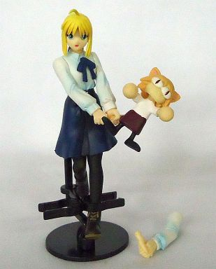 main photo of TFC Fate/stay night: Saber & Neco-Arc