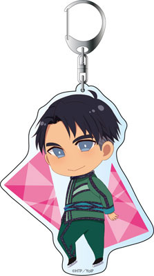 main photo of Yuri on Ice Deka Keychain: Jean-Jacques Leroy Costume ver.