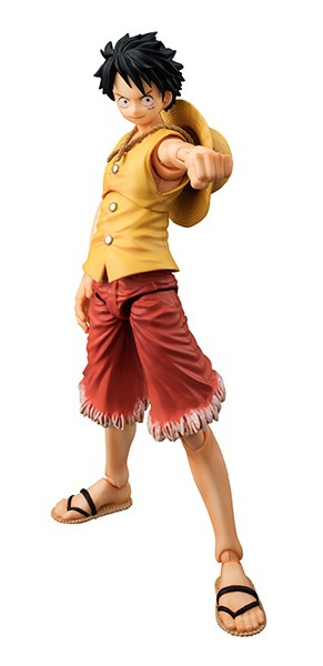 main photo of Variable Action Heroes Monkey D. Luffy Past Blue Ver. Yellow