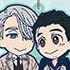 Yuri!!! on Ice Rubber Strap Collection Pair: Yuri Katsuki & Victor Nikiforov