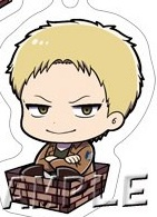 main photo of Attack on Titan Season 2 3way Charm Accessory Version B: Reiner