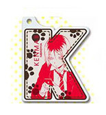 main photo of Haikyu!! Acrylic Initial Keychain: Kozume Kenma