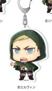 main photo of Shingeki no Kyojin Chimi Acrylic Keychain: Erwin Smith