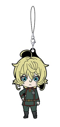 main photo of Nendoroid Plus Rubber Strap Youjo Senki: Tanya Degurechaff