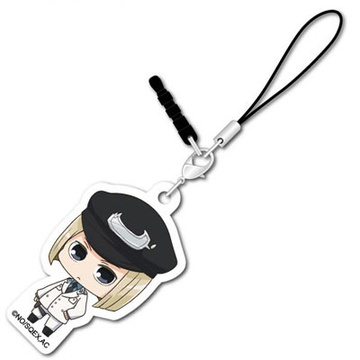 main photo of ACCA 13-ku Kansatsu-ka KanaChibi Acrylic Charm: Rail