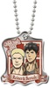 photo of Shingeki no Kyojin Metal Plate: Bertholt, Reiner