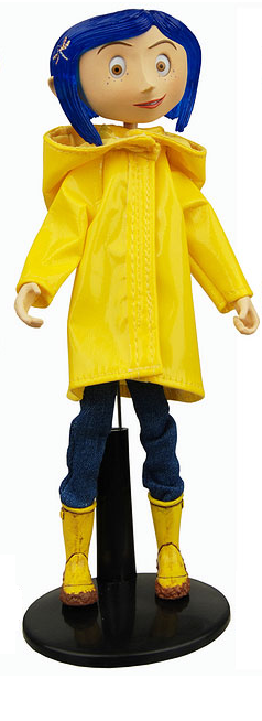 main photo of Bendy Fashion Doll Coraline Raincoat and Boots Ver.