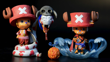 main photo of Cos Chopper Vol. 2 Boa Hancock and Jinbe Resin Statue