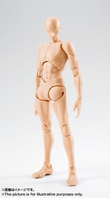 main photo of S.H.Figuarts Body-kun Rihito Takarai Edition Pale Orange Color ver.