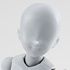 S.H.Figuarts Body-chan Kentaro Yabuki Edition DX Set Grey Color ver.