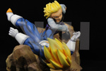 photo of Android 18 vs SS Vegeta