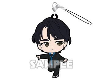 main photo of Yuri!!! on Ice Rubber Strap: Lee Seung Gil