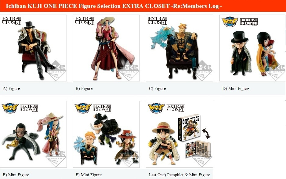Photo Of Ichiban Kuji Figure Selection One Piece Extra Closet ~Re:Members  Log~