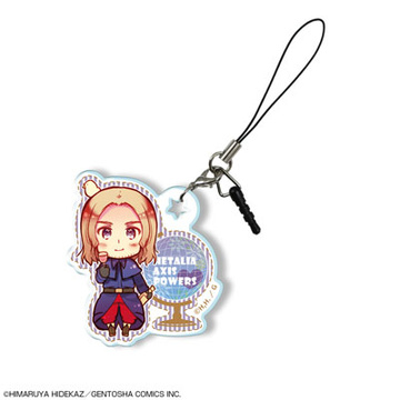 main photo of Hetalia Axis Powers Trading Acrylic Earphone Jack Accessory: Bonnefoy Francis