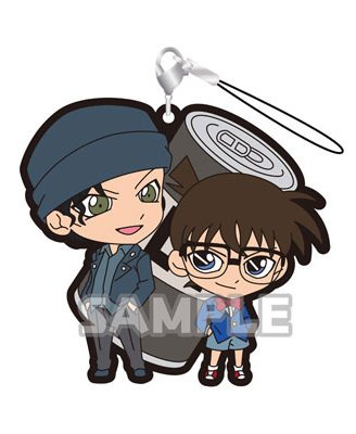 main photo of Detective Conan Rubber Strap DUO vol.2: Conan Edogawa & Shuichi Akai